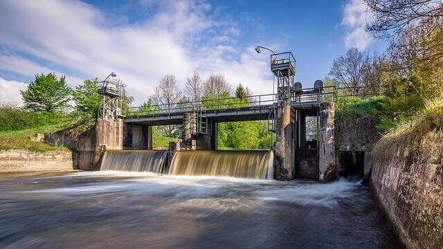 Wasserkraft in Bayern, Wasserkraftwerk,